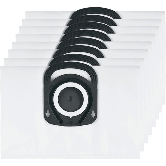 10 Sacs d'aspirateur 5 couches en non-tissé compatible avec rowenta silence force extreme compact rO5729DA