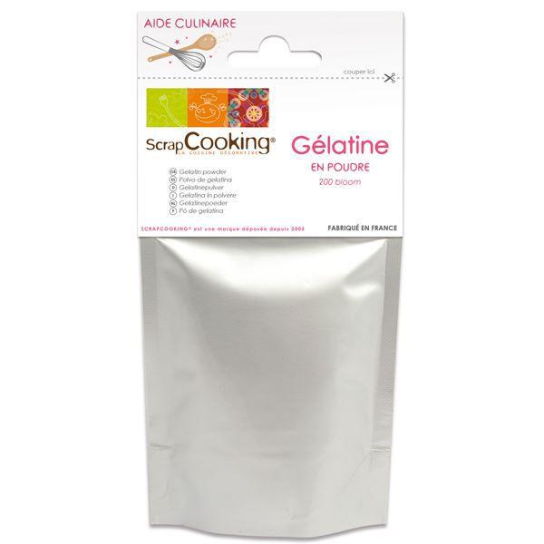 Gélatine en poudre - ScrapCooking