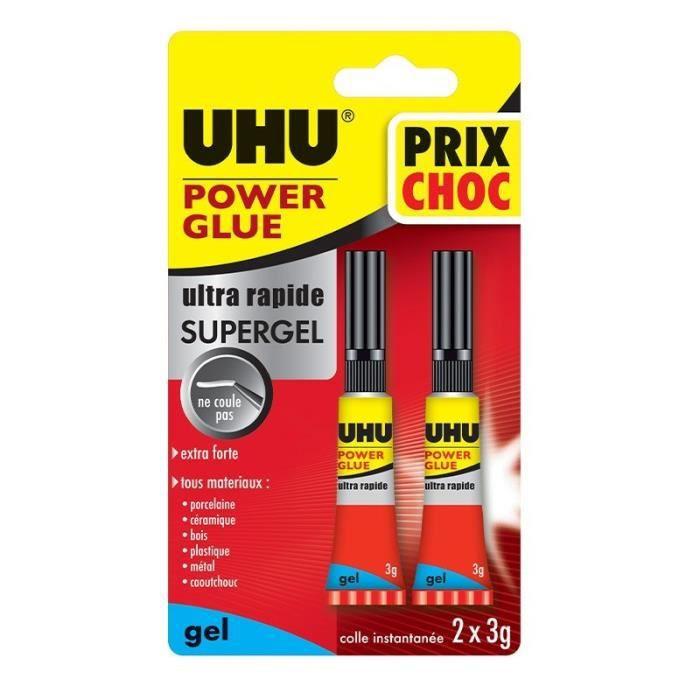 Power Glue Liquide Control - 2 x 3G - UHU