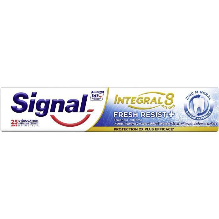 Signal Dentifrice Antibactérien Fresh Resist Plus 18H Protection 75ml