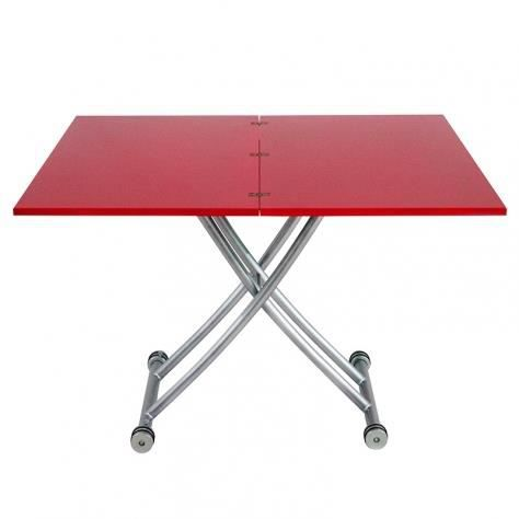 Table basse relevable laquee corsa xl achat vente for Table basse relevable occasion