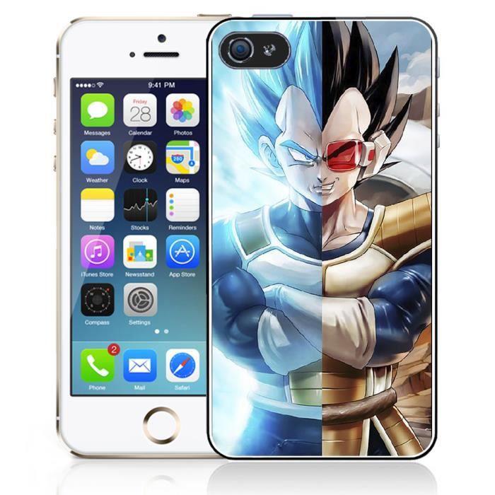 Coque iPhone 5 - 5S - SE Vegeta Super Saiyan Split