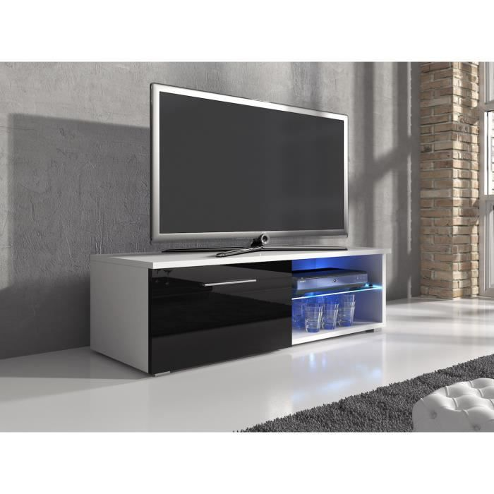 meuble tv 120 cm blanc maison design. Black Bedroom Furniture Sets. Home Design Ideas