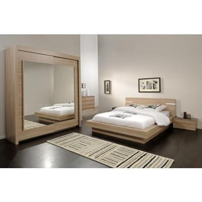 chambre adulte compl te opaline 3 achat vente lit complet chambre adulte compl te cdiscount. Black Bedroom Furniture Sets. Home Design Ideas