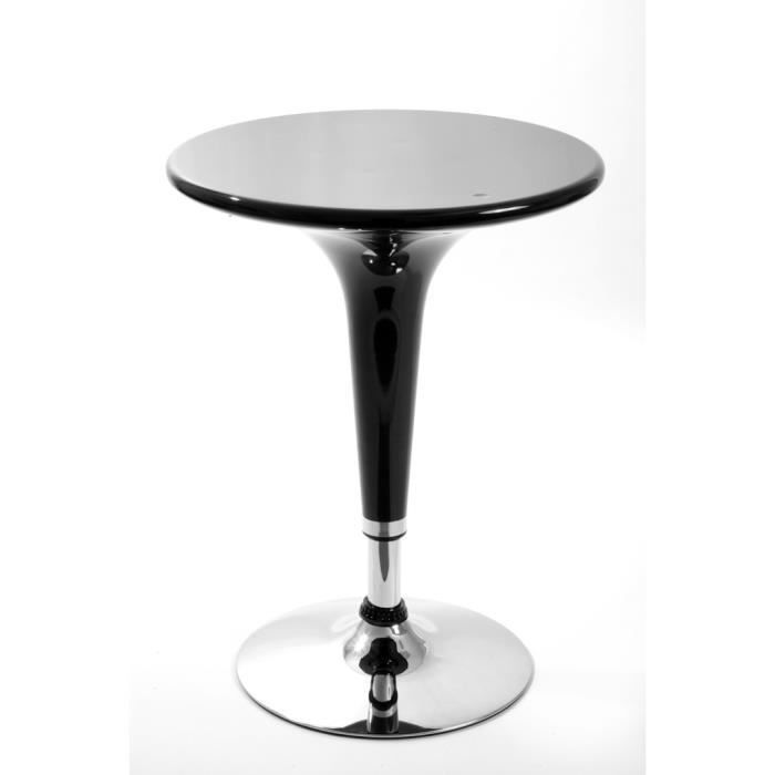 Table haute de bar lake noire achat vente mange debout for Achat table bar