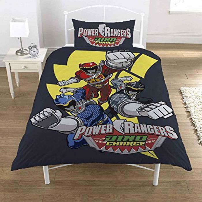 power rangers parure de lit 39 dino charge 39 137 x 198 cm