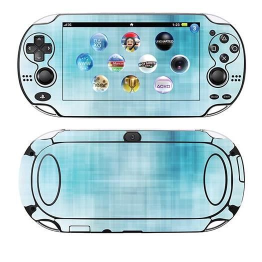 skin stickers pour sony ps vita sticker turquoise. Black Bedroom Furniture Sets. Home Design Ideas