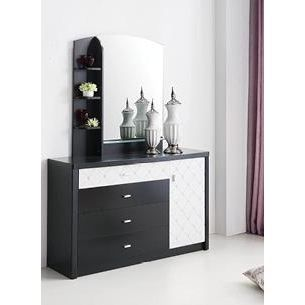 commode et miroir en bois wengue achat vente commode semainier commode et miroir bois. Black Bedroom Furniture Sets. Home Design Ideas
