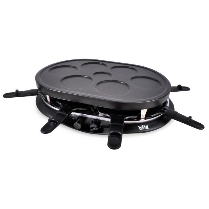 crepiere raclette 8pers 1200w achat vente appareil. Black Bedroom Furniture Sets. Home Design Ideas