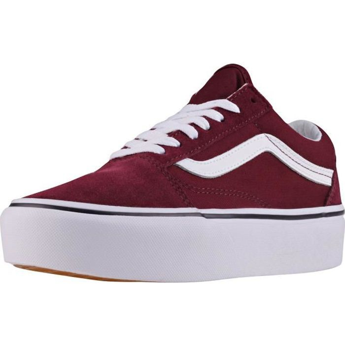 vans rouge bordeaux old skool