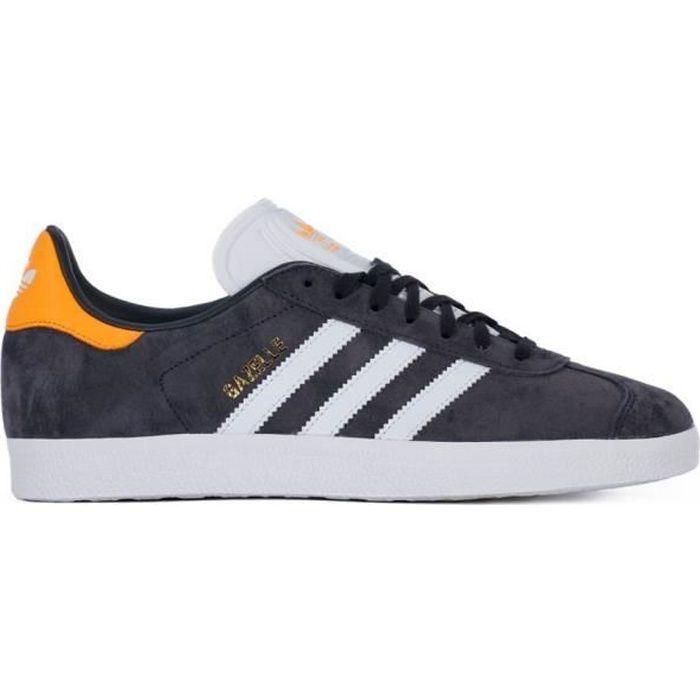 Chaussures Adidas Gazelle Noir - Achat / Vente basket - Soldes sur ...