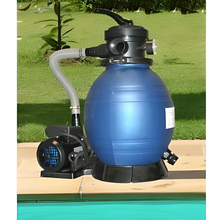 Filtration piscine filtre sable pompe 4 m achat for Pompe piscine sable