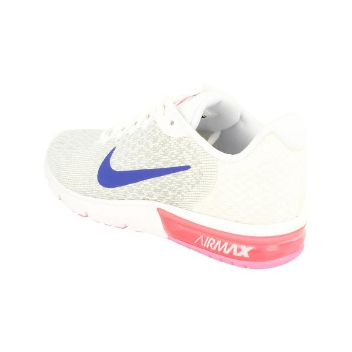 Nike Femmes Air Max Sequent 2 Running Trainers 852465 Sneakers Chaussures 146