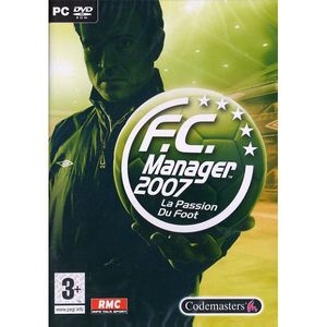 JEU PC FC MANAGER 2007 / PC DVD-ROM