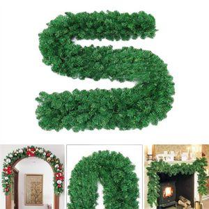 FLEUR ARTIFICIELLE Feuillage vert artificiel de feuillage de guirland