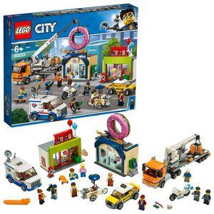 ASSEMBLAGE CONSTRUCTION LEGO City - L'ouverture du magasin de donuts, Enfa