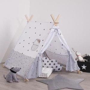 TENTE TUNNEL D'ACTIVITÉ Decoration chambre enfant Tente Tipi deco pour enf