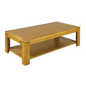 TABLE BASSE Table basse rectangulaire chene clair