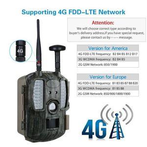 APP. PHOTO MINIATURE Caméra de chasse 4G GPS FTP Trajet de la caméra Em