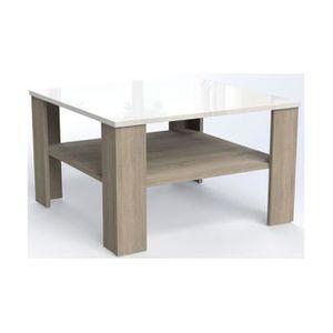 TABLE BASSE PROMEZIA MINI | Table basse carrée style contempor