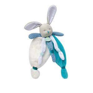 DOUDOU BABYNAT Doudou lapin bleu