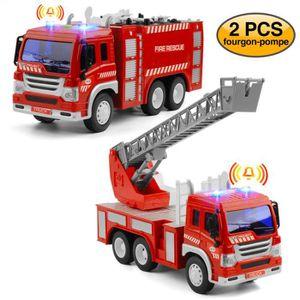 TRACTEUR - CHANTIER Pompier Camion Jouet enfant autopompes voiture de