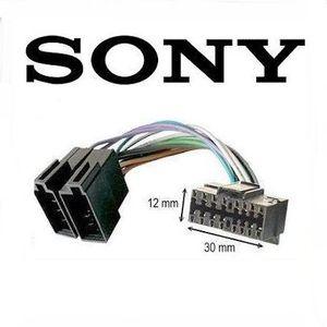 CÂBLE TV - VIDÉO - SON Câble adaptateur ISO autoradio SONY 16 pins