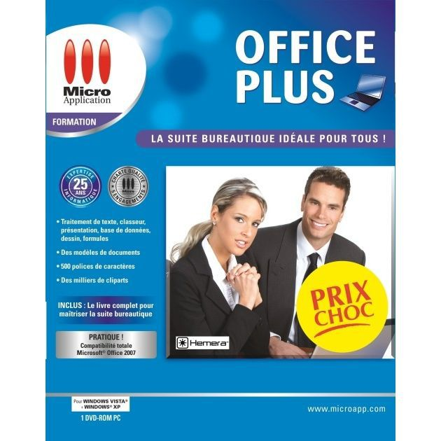 office plus pc dvd rom prix pas cher les soldes sur cdiscount cdiscount. Black Bedroom Furniture Sets. Home Design Ideas