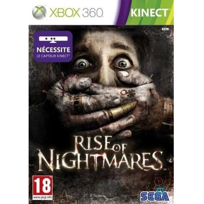 JEUX XBOX 360 RISE OF NIGHTMARES KINECT / Jeu console X360