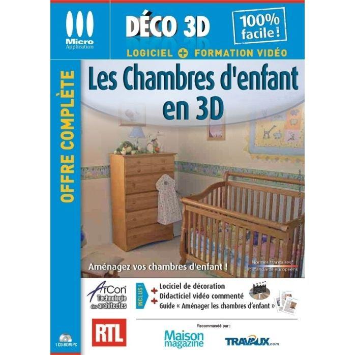 LES CHAMBRES D'ENFANT EN 3D / LOGICIEL PC CD-ROM