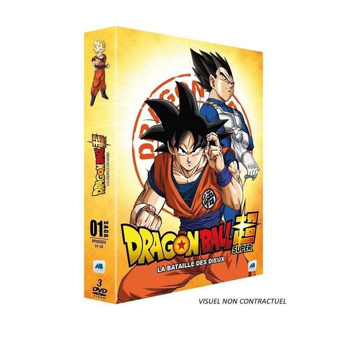 Dragon Ball Super - Saga 01 La Bataille des Dieux Episodes 1-18