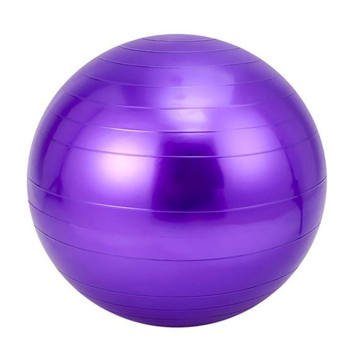 BALLON SUISSE - GYM BALL - SWISS BALL Exercice Gym Yoga Ball Fitness Grossesse Accouchement Anti Burst Core Ball YIN91018001PP_118