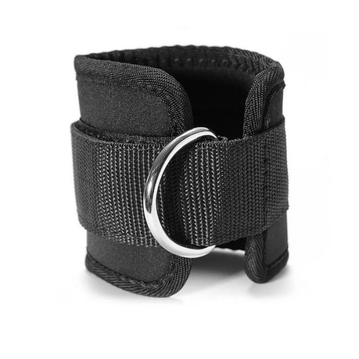 2pcs cheville - poids de poignet (noir)