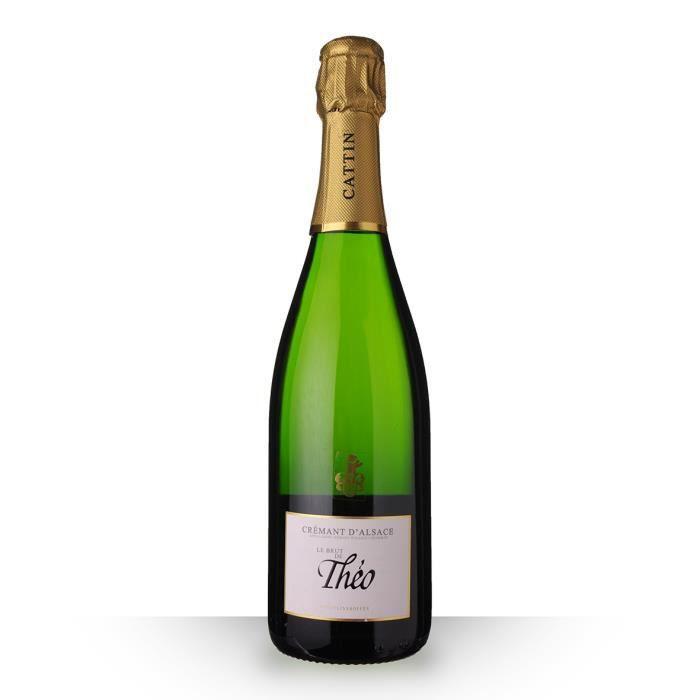Le Brut de Théo Brut 75cl AOC Crémant d'Alsace - Vin Blanc
