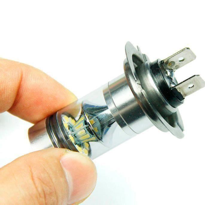 2 x 100W H7 LED ampoule 20 SMD Cree DC 12V ~ 24V d'antibrouillard de voiture de Cree blanc - MCECRG#0727-A2269