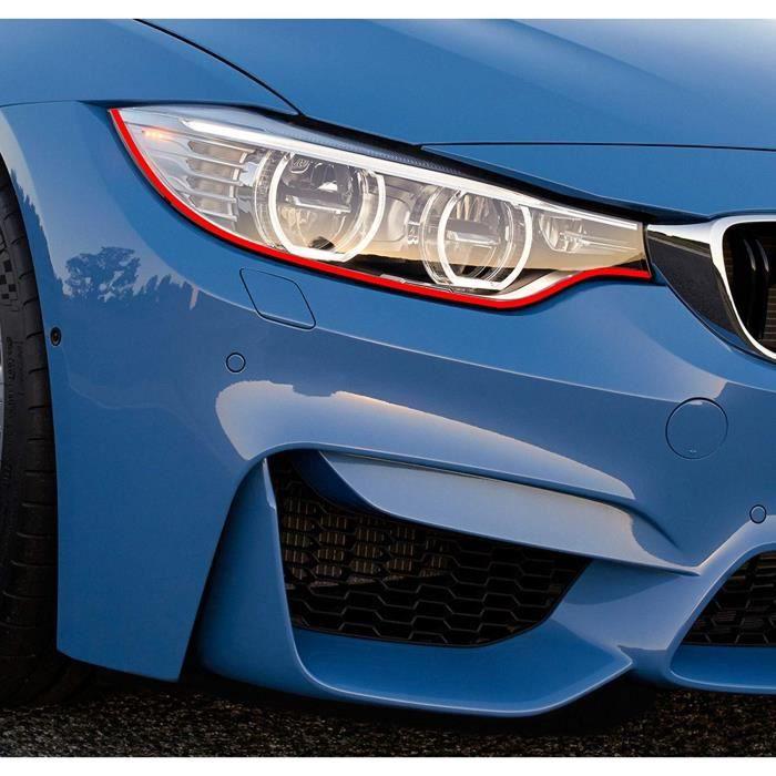 Finest-Folia Devil Eye® Projecteur Film de Stripe pour BMW F20 F21 E81 E82 E87 E88 M Paquet