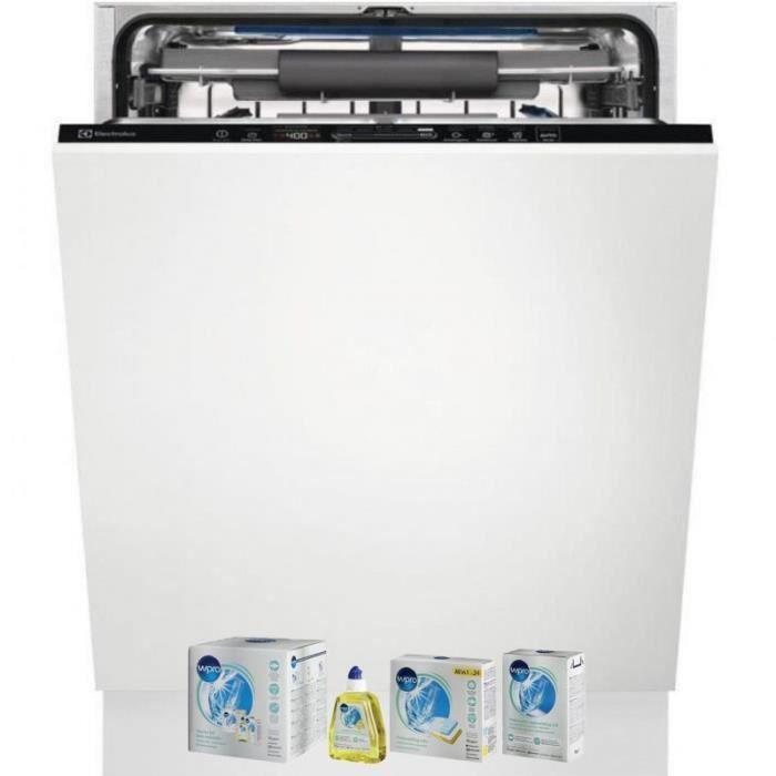ELECTROLUX Lave-vaisselle tout intégrable encastrable 46dB 15 couverts 60cm Tiroir à couverts 90