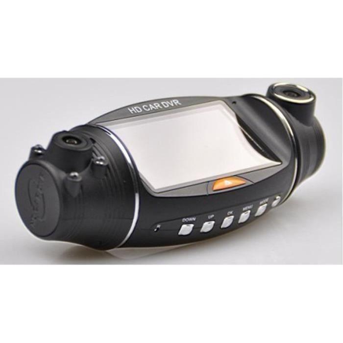 VOI VOIME DVR DOUBLE CAMÉRA Grand angle Enregistreur de boite noire video - camera embarquee aide a la conduite - securite