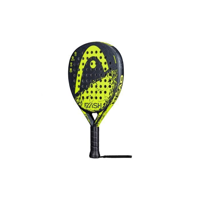 Raquette Padel HEAD FLASH with CB Noir / Jaune (360 g) 2020