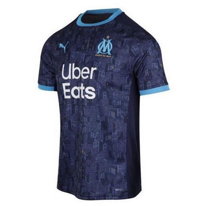 Maillot Homme Puma OM Olympique de Marseille Extérieur Saison 2020-2021