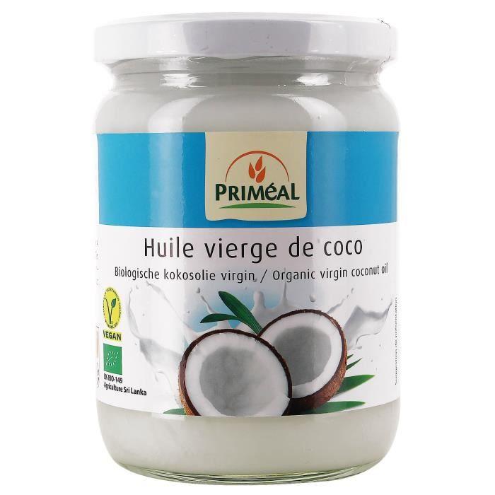 PRIMEAL - HUILE DE COCO VIERGE 500ML