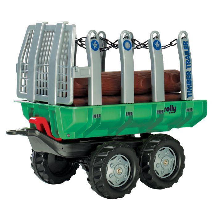 ROLLY TOYS Remorque pour tracteur à pédales Timber Trailer