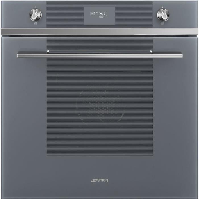 smeg - four intégrable multifonction 70l 60cm a+ pyrolyse miroir - sfp6101tvs1