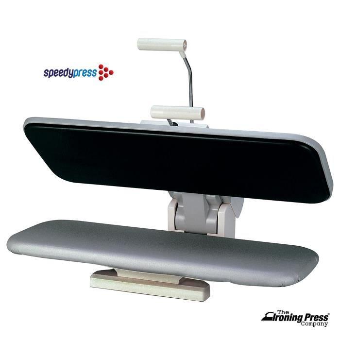 Presse à Repasser Sèche Commerciale par Speedypress (Comprend une Couverture de Rechange et un Sous-Feutre en Mousse GRATUITE)