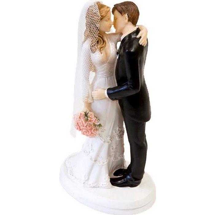 Figurine mariage couple de mariés: Le Baiser (x1) REF/SUJ4974