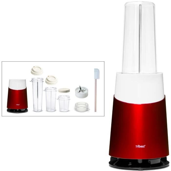 TRIBEST Personal Blender Tribest PB410 - Rouge