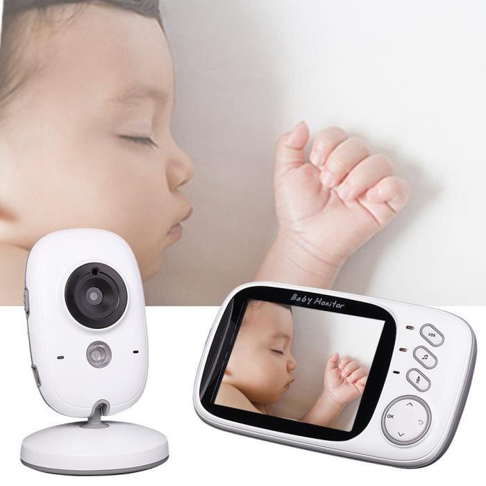 Vococal ® BabyPhone numérique vidéo Sans fil Multifonctions 3.2 pouces avec Night vision livraison