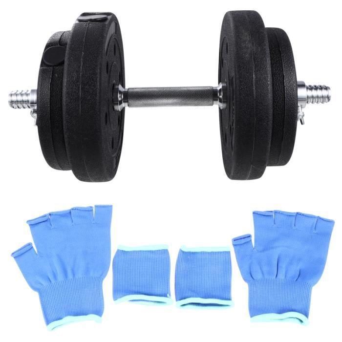 1 ensemble d'haltères réglables complet du corps solide 1,25 kg 2,5 outils de fitness à poignée BARRE - HALTERE - POIDS