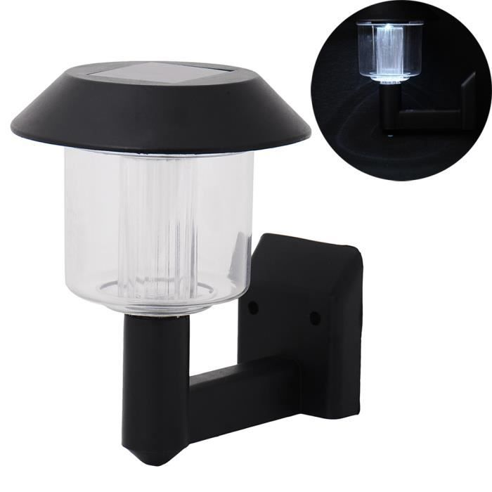 teckey lampe solaire murale led applique clairage ext rieur pour jardin porte d 39 entr e achat. Black Bedroom Furniture Sets. Home Design Ideas