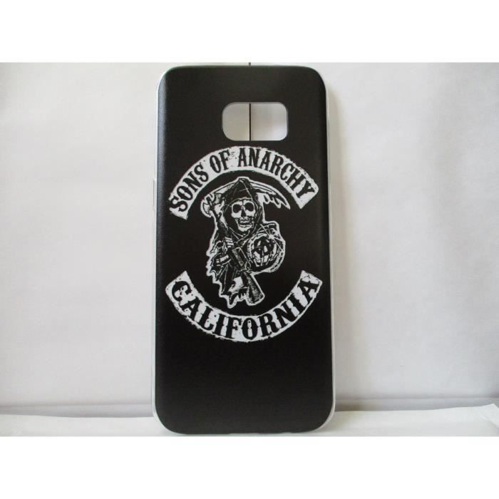 coque sons of anarchy samsung galaxy s7 edge neuf achat. Black Bedroom Furniture Sets. Home Design Ideas